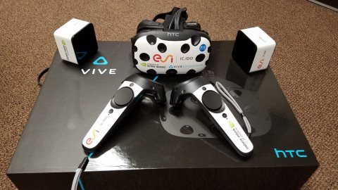 ESI IC.IDO 11 runs on HTC Vive Business Edition.